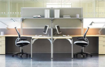 Partners office furniture range - desking