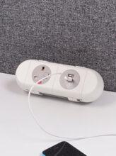 On-desk sockets