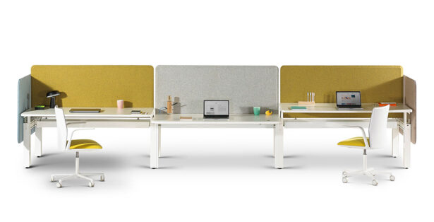 Bench office workstation