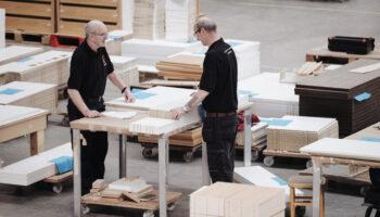 Farrell Furniture manufacturing facility