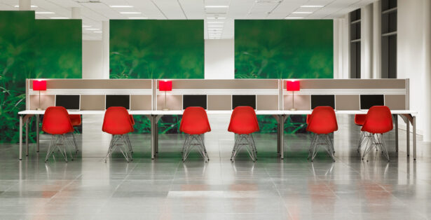 Partners office furniture range - bench
