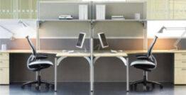 Partners office furniture range - desking