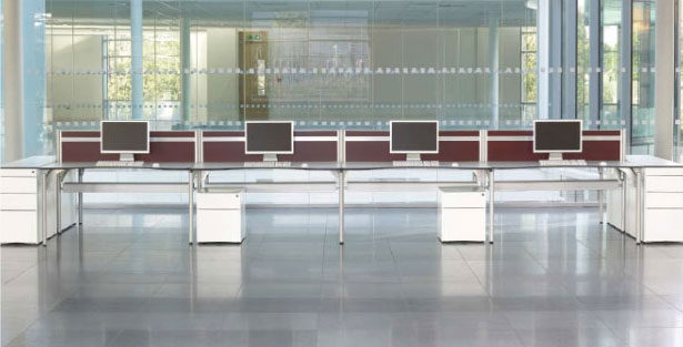 Partners office furniture range