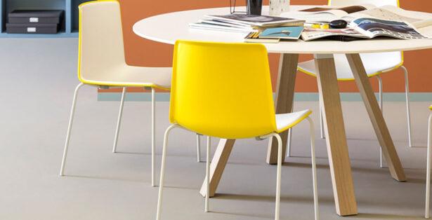 Pedrali canteen seating