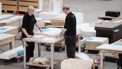 Farrell manufacturing staff