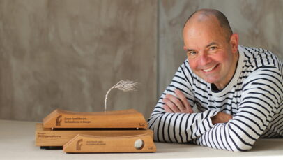Gerry Murphy, 2020 Winner of the Conor Farrell Design Award supported by Farrell Furniture and GMIT Letterfrack.